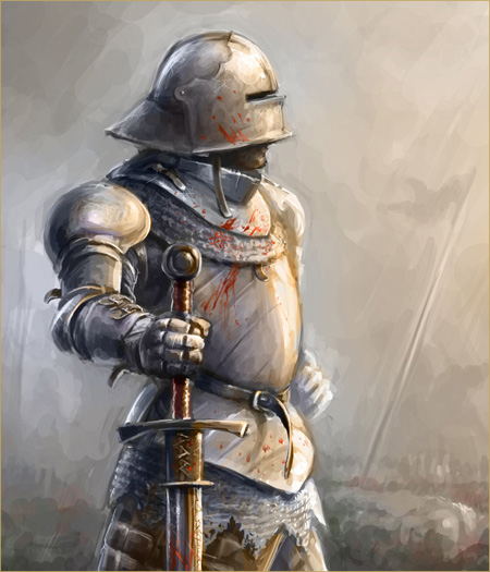 15th century knight by Skvor, used under the Creative Commons License