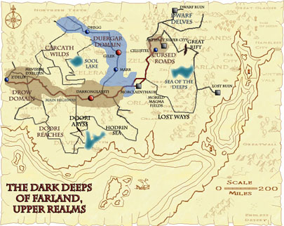 The Dark Deeps Upper Realms