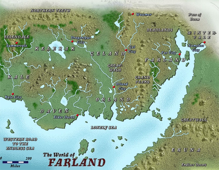 Map of Farland